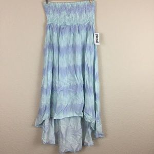 Kirra dress hi-low blue